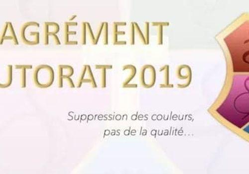 Agrément Tutorat 2019