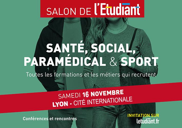 Salon Santé, Social, Paramédical et Sports