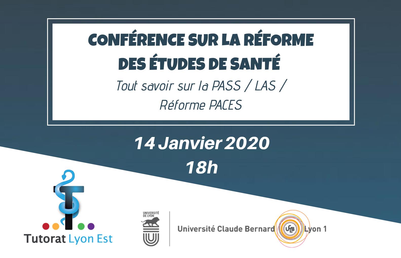 Conférence d'information sur la réforme des études de santé