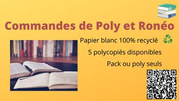 Commande de polycopiés S1